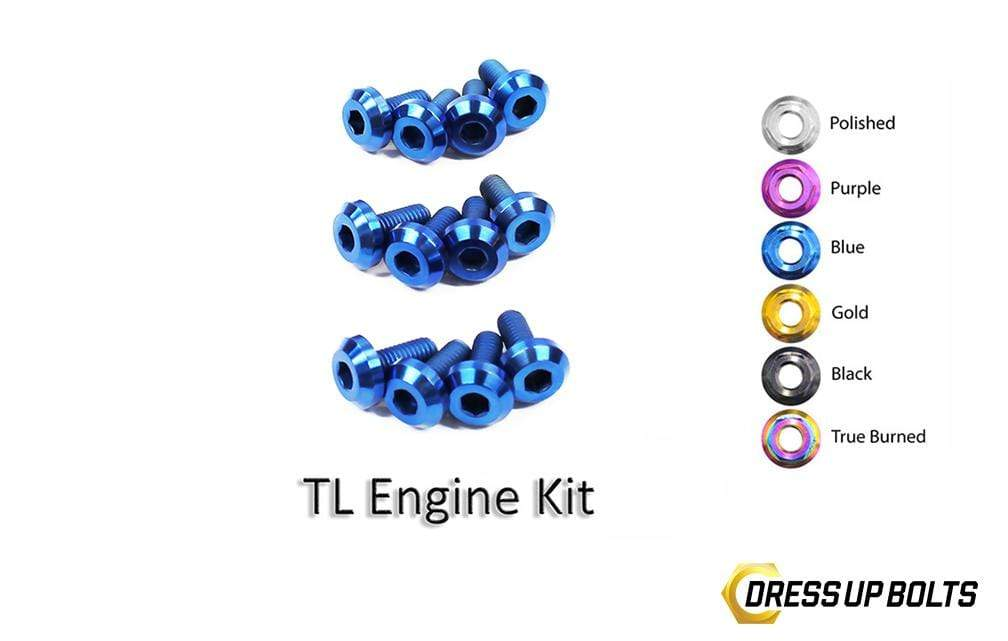 Acura TL (2004-2008) Titanium Dress Up Bolts Engine Kit - DressUpBolts.com