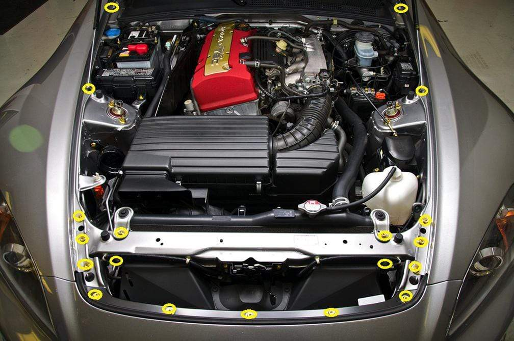 Honda S2000 Engine Bay