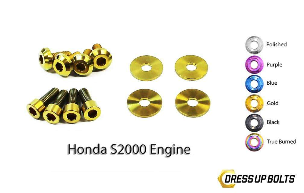 Honda S2000 (2000-2009) AP1/AP2 Titanium Dress Up Bolts Engine Kit - DressUpBolts.com