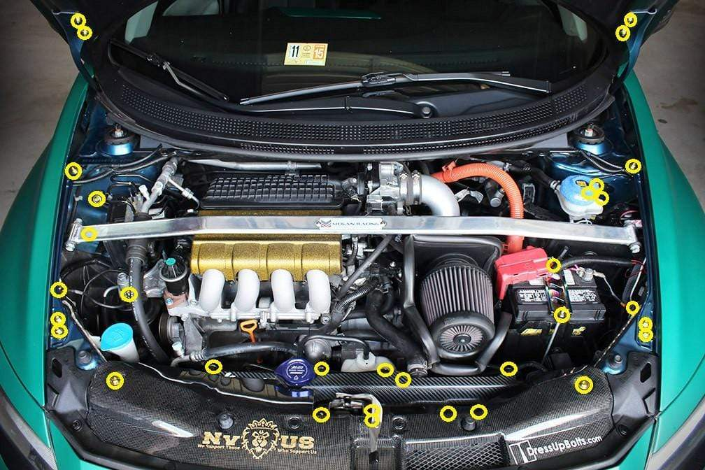 Honda CR-Z Engine Bay