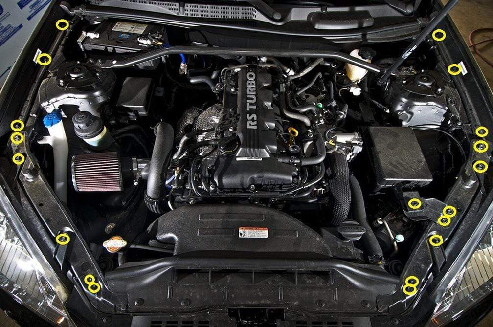 Hyundai Genesis Engine Bay