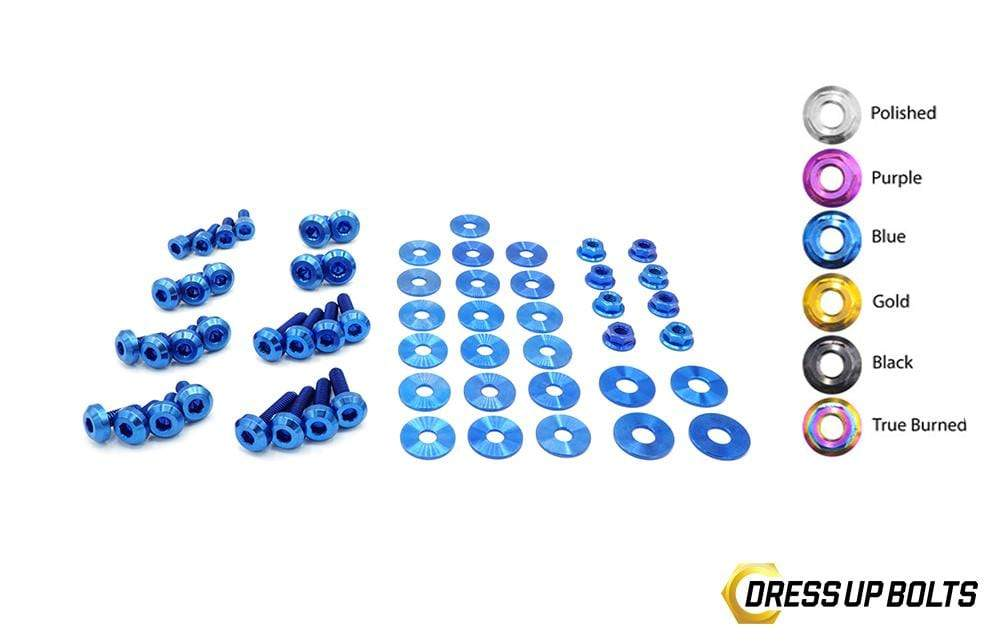 Hyundai Veloster (2019+) Titanium Dress Up Bolts Engine Bay Kit - DressUpBolts.com