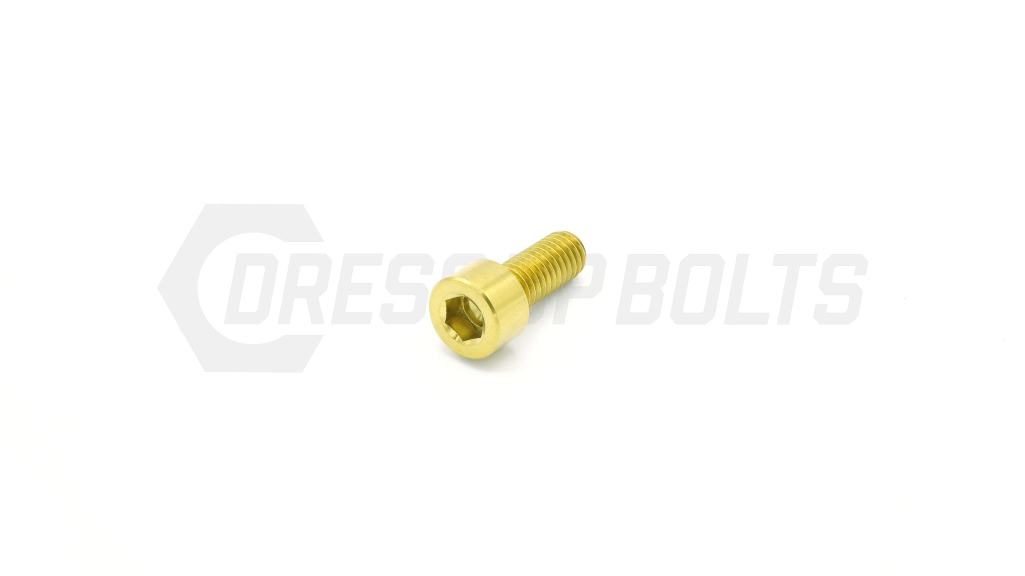 M6 x 1.00 x 15mm Titanium Socket Head Bolt by Dress Up Bolts - DressUpBolts.com