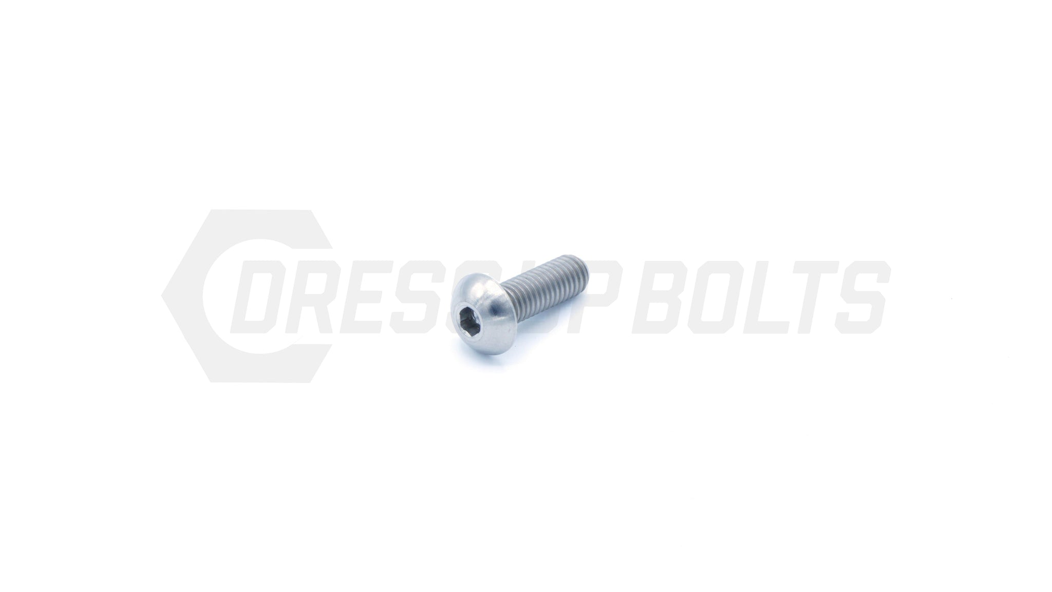 M5 x .8 x 15mm Titanium Button Head Bolt by Dress Up Bolts - DressUpBolts.com