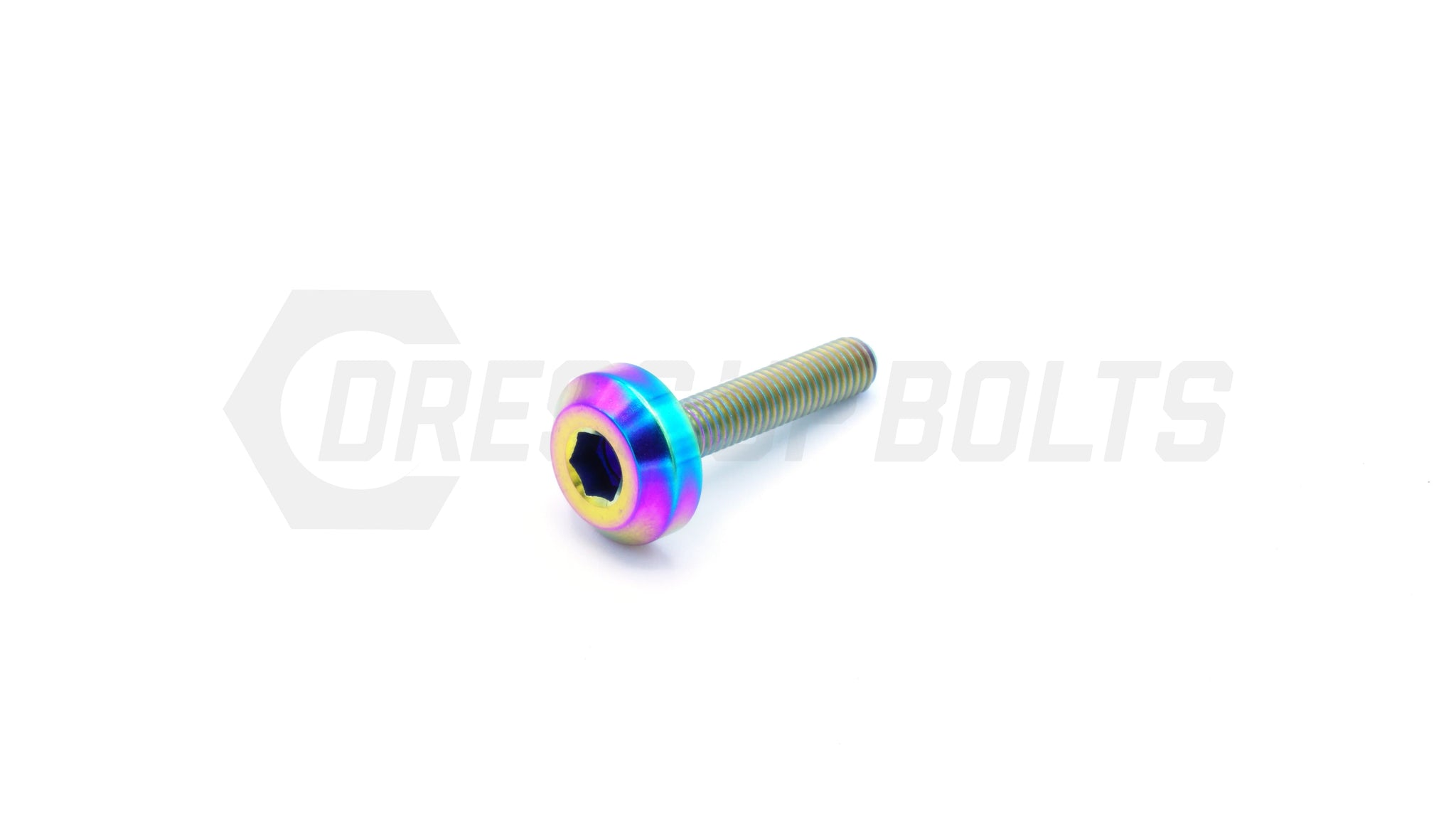 M5 x .8 x 25mm Titanium Motor Head Bolt by Dress Up Bolts - DressUpBolts.com