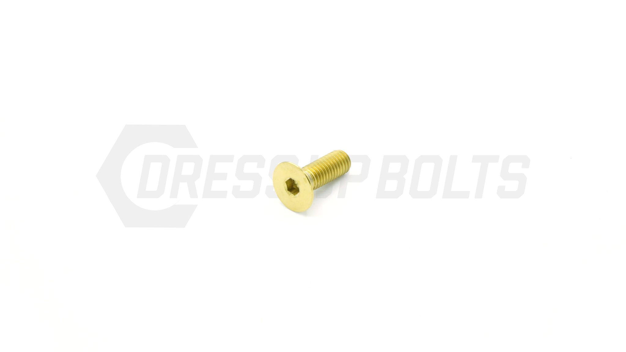 M5 x .8 x 15mm Titanium Countersunk Bolt by Dress Up Bolts - DressUpBolts.com