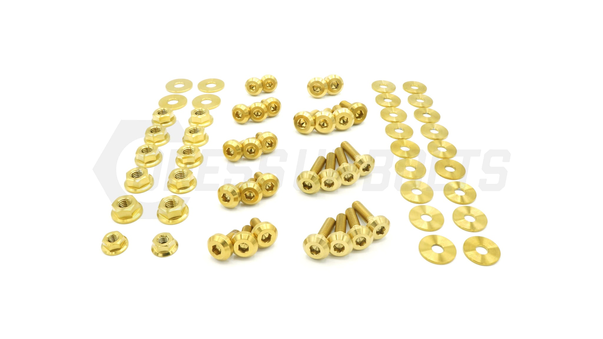 Infiniti Q60 (2014-2015) Titanium Dress Up Bolts Engine Bay Kit - DressUpBolts.com