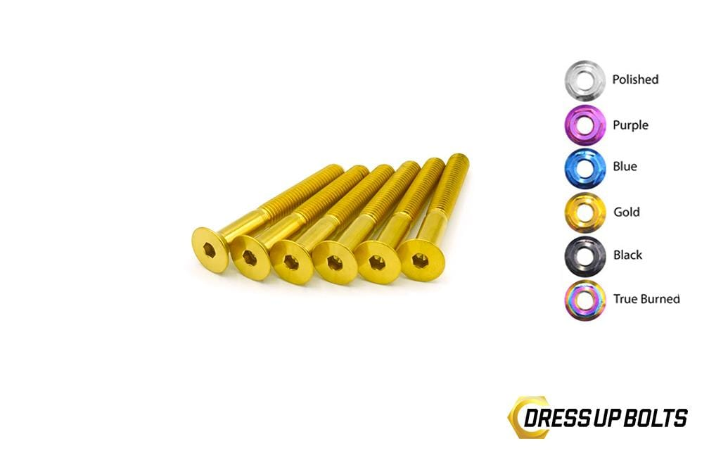 40mm Titanium Dress Up Bolts Steering Wheel Kit - DressUpBolts.com
