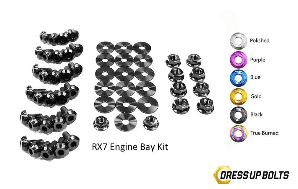 Mazda RX-7 FC/FC3S (1986-1991) Titanium Dress Up Bolts