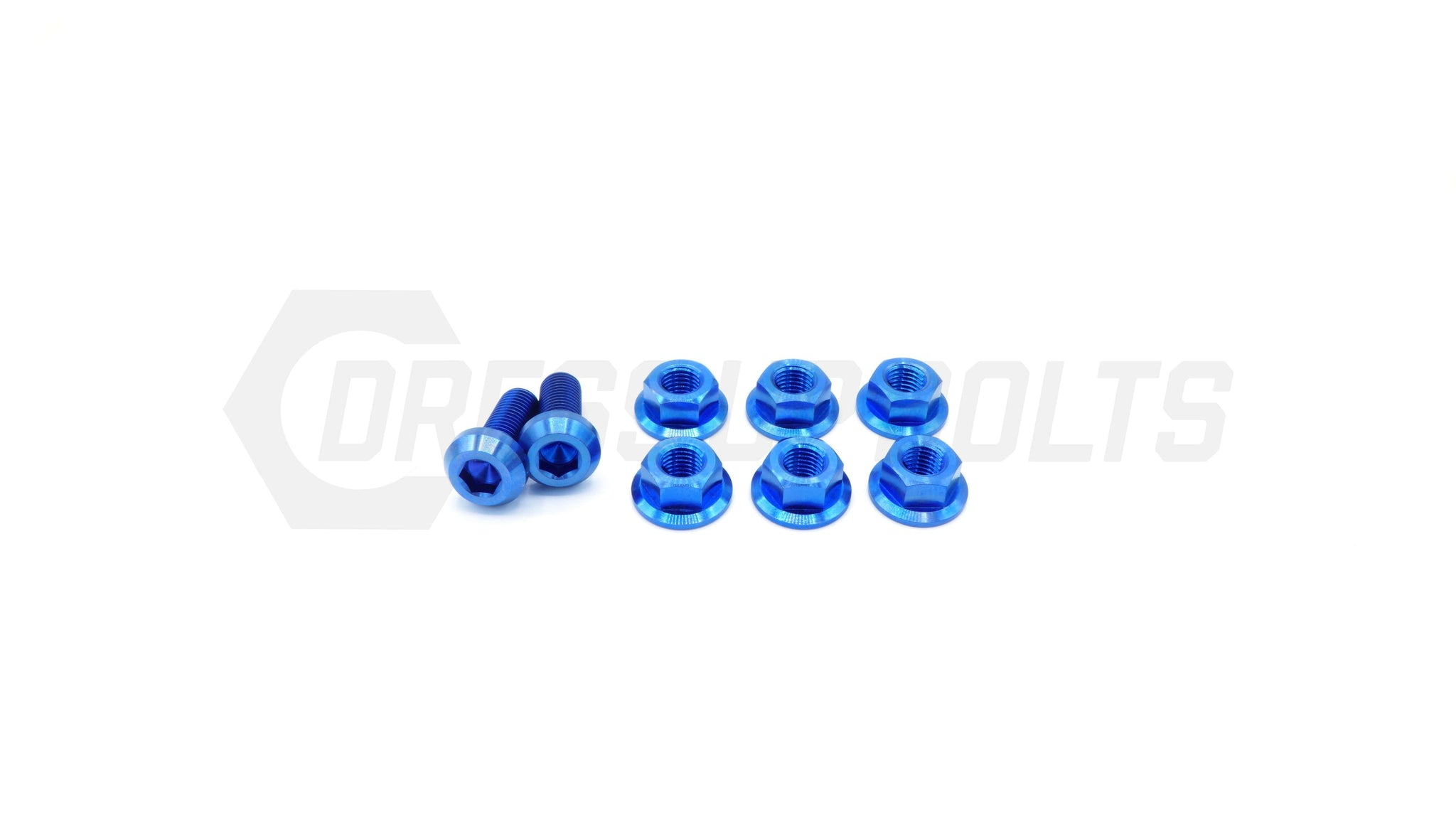 Mitsubishi Evo VIII (2003-2005) Titanium Dress Up Bolts Strut Tower Kit - DressUpBolts.com