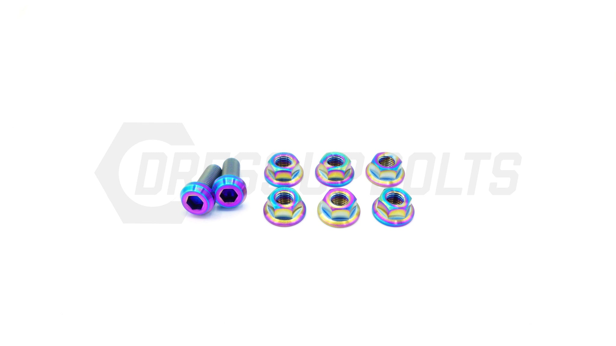 Mitsubishi Evo IX (2006-2007) Titanium Dress Up Bolts Strut Tower Kit - DressUpBolts.com