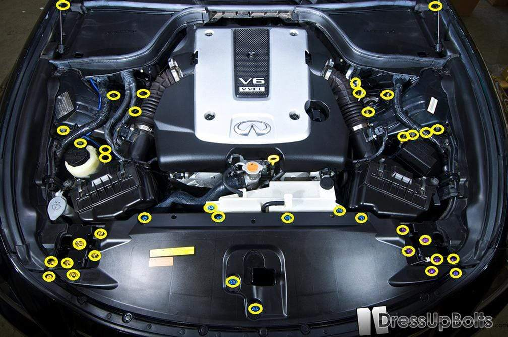 Infiniti G37 Engine Bay