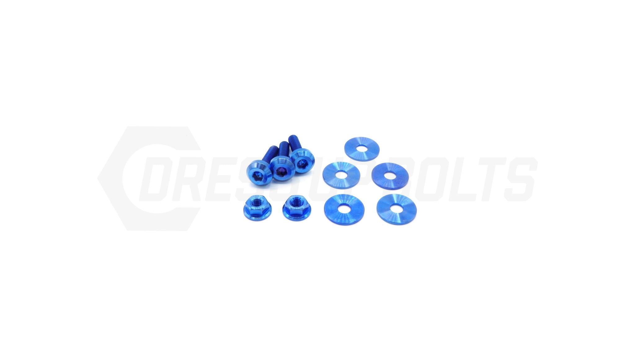 Dress Up Bolts Titanium Hardware Engine Cover Kit - VQ37VHR Engine - DressUpBolts.com