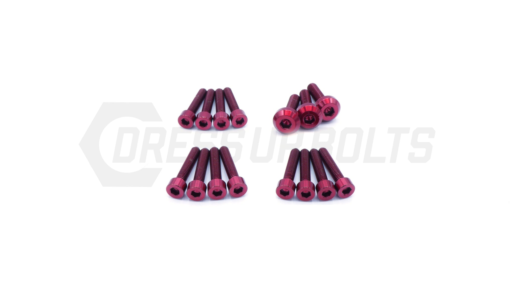 Nissan RB26 Titanium Dress Up Bolts Partial Engine Cover Kit - DressUpBolts.com