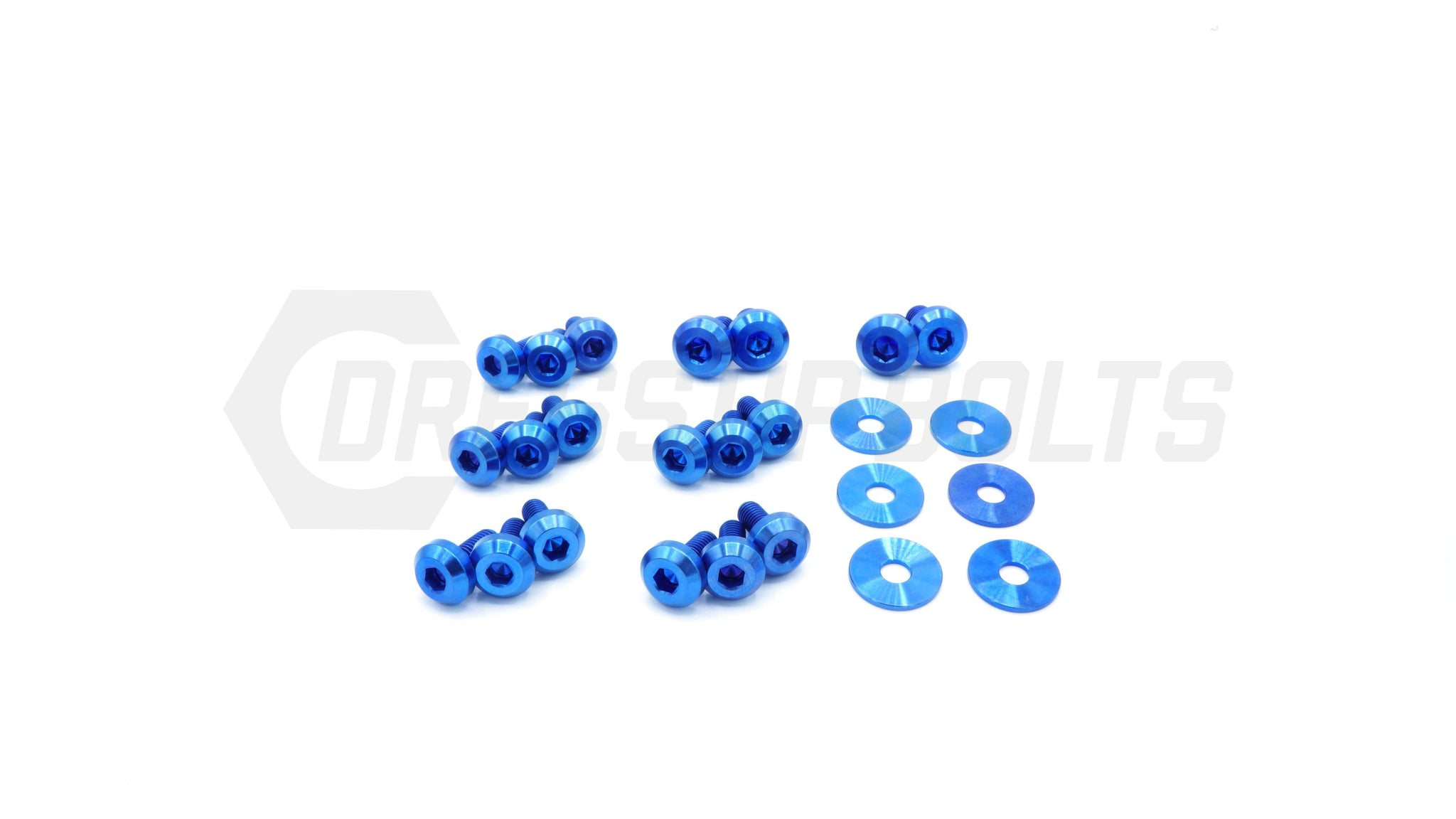 Nissan Silvia S13 (1989-1995) Titanium Dress Up Bolts Partial Engine Bay Kit - DressUpBolts.com