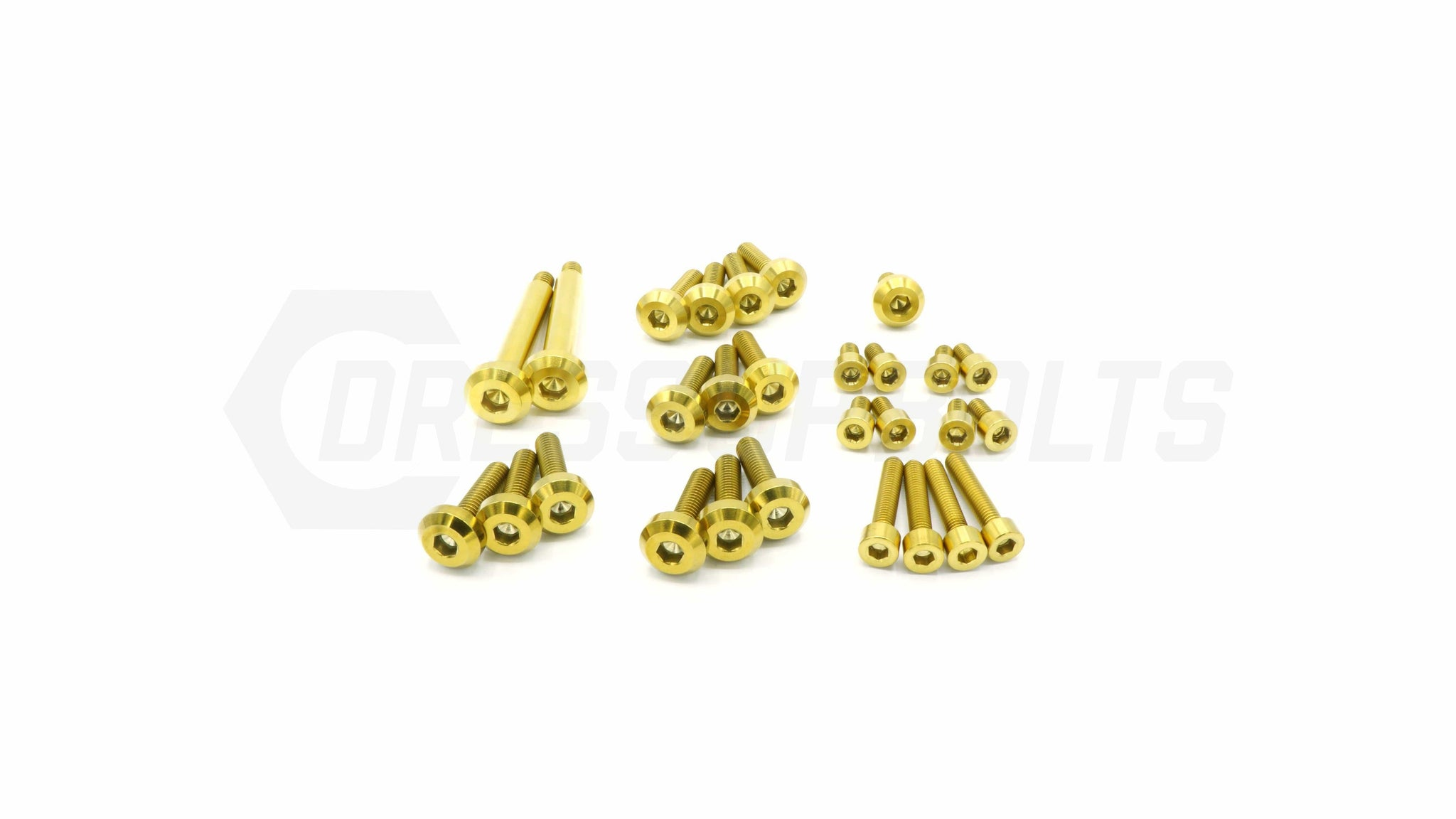 Dress Up Bolts Stage 1 Titanium Hardware Engine Kit - RB25 Engine - DressUpBolts.com