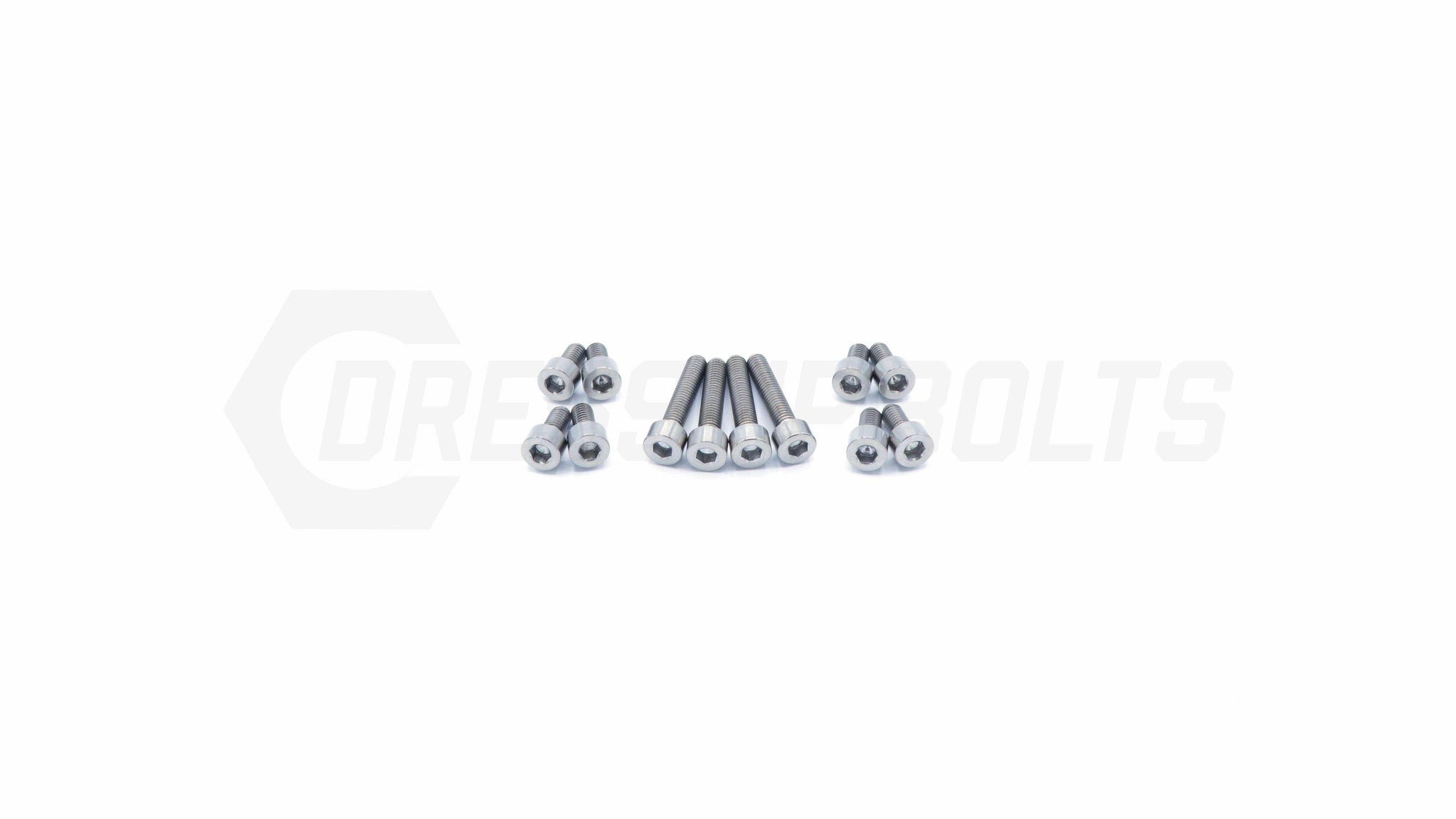 Dress Up Bolts Titanium Hardware Coil Pack Cover Kit - RB25 Engine - DressUpBolts.com