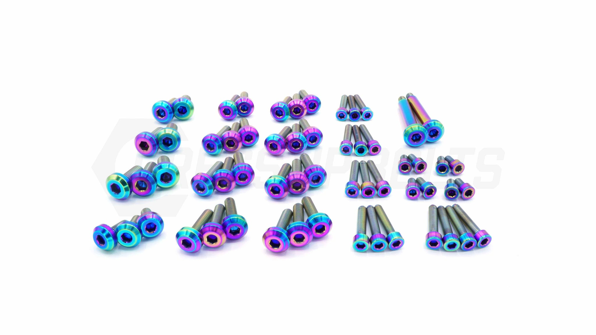 Dress Up Bolts Stage 3 Titanium Hardware Engine Kit - RB25 Engine - DressUpBolts.com