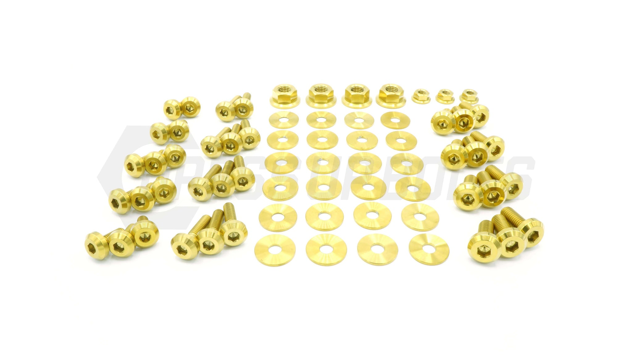 Dress Up Bolts Titanium Hardware Engine Bay Kit - Nissan Skyline GT-R (R32) - DressUpBolts.com