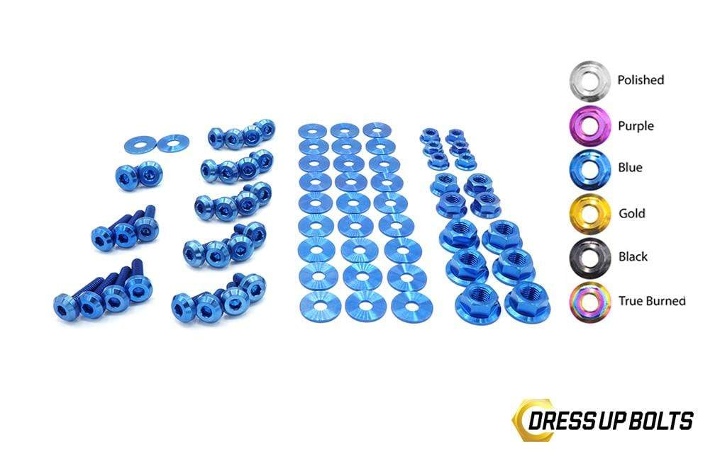 Nissan S15 (1999-2002) Titanium Dress Up Bolts Full Engine Bay Kit - DressUpBolts.com