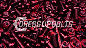 Mitsubishi 1G Eclipse (1990-1994) Titanium Dress Up Bolts Full Engine Bay Kit - DressUpBolts.com