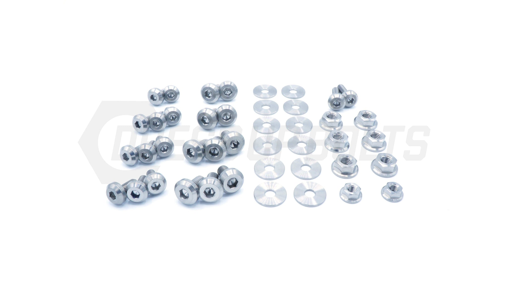 Subaru WRX/STI (2006-2007) Titanium Dress Up Bolts Engine Bay Kit - DressUpBolts.com