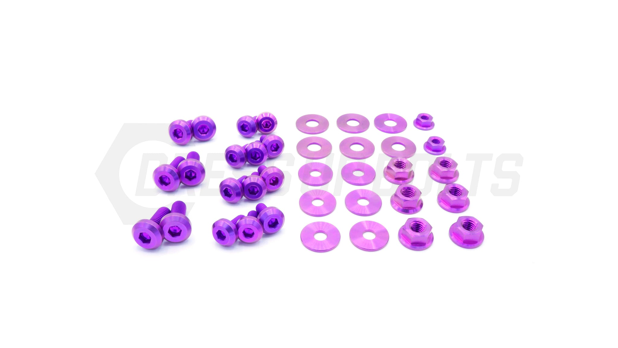 Subaru Legacy/GT (2005-2009) Titanium Dress Up Bolts Engine Bay Kit - DressUpBolts.com