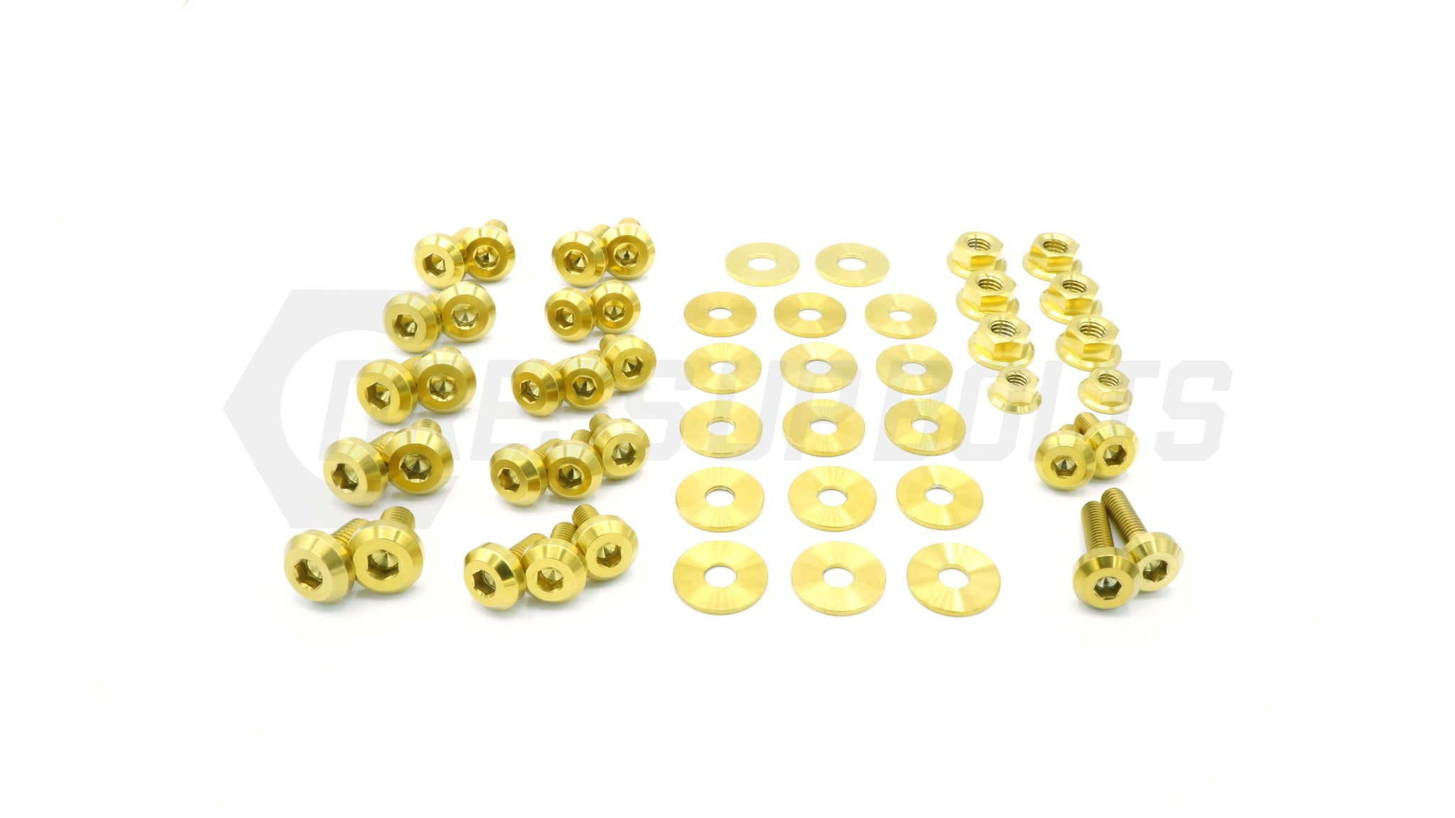 Subaru WRX and STi (2004-2005) Titanium Dress Up Bolts Engine Bay Kit - DressUpBolts.com