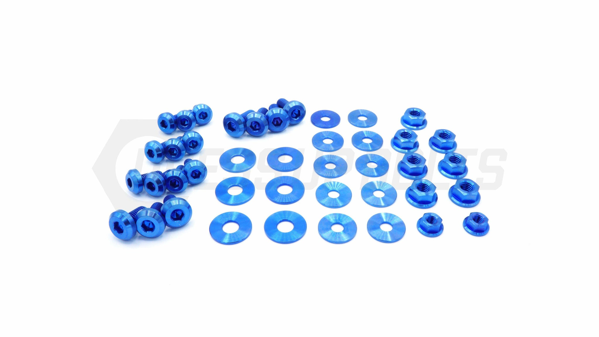 Subaru WRX/STI (2008-2014) Titanium Dress Up Bolts Engine Bay Kit - DressUpBolts.com