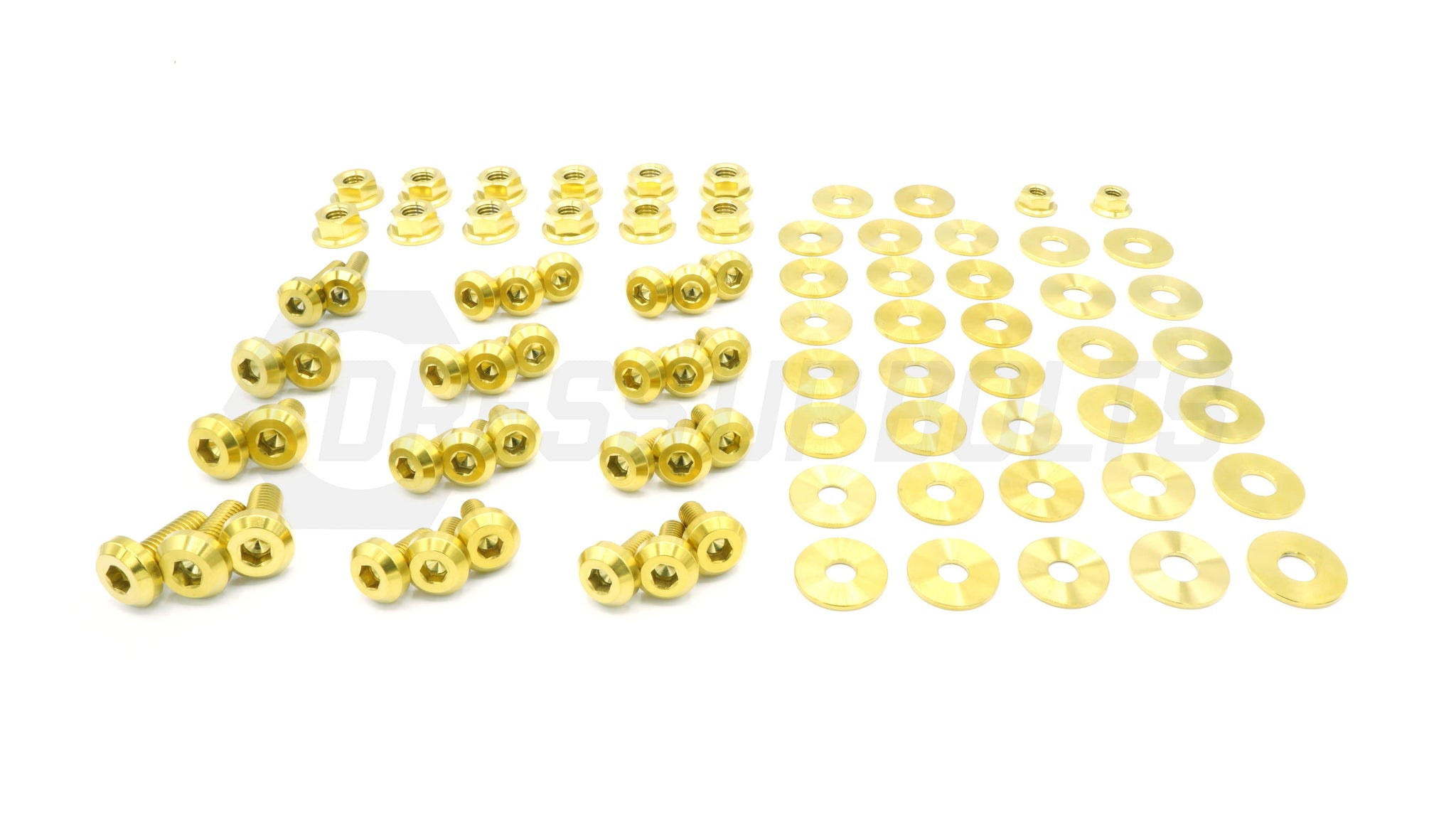 Scion FR-S (2013-2016) Titanium Dress Up Bolts Full Engine Bay Kit - DressUpBolts.com