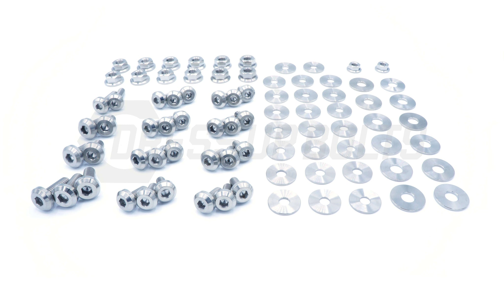 Subaru BRZ (2013-2019) Titanium Dress Up Bolts Full Engine Bay Kit - DressUpBolts.com