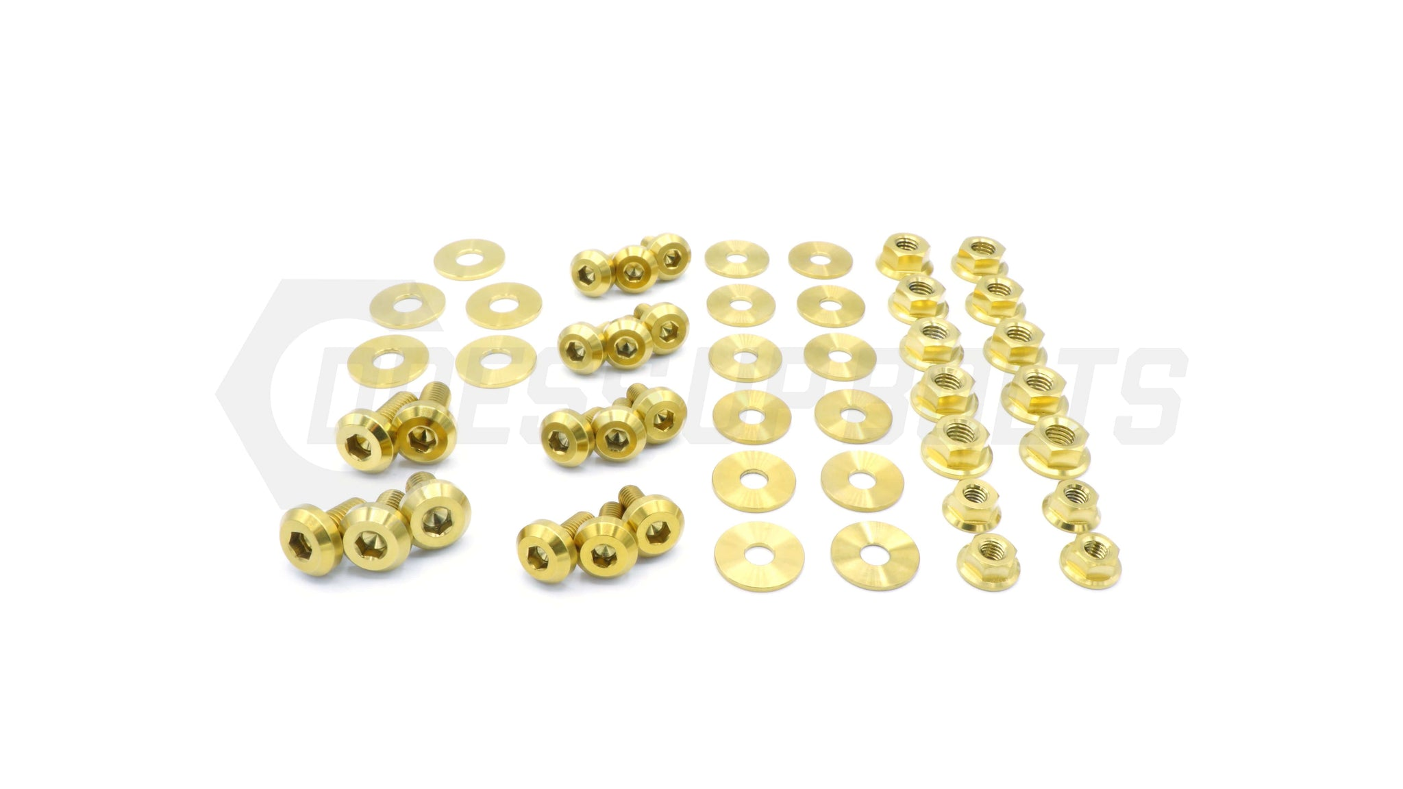 Subaru WRX and STI (2015-2020) Titanium Dress Up Bolts Engine Bay Kit - DressUpBolts.com