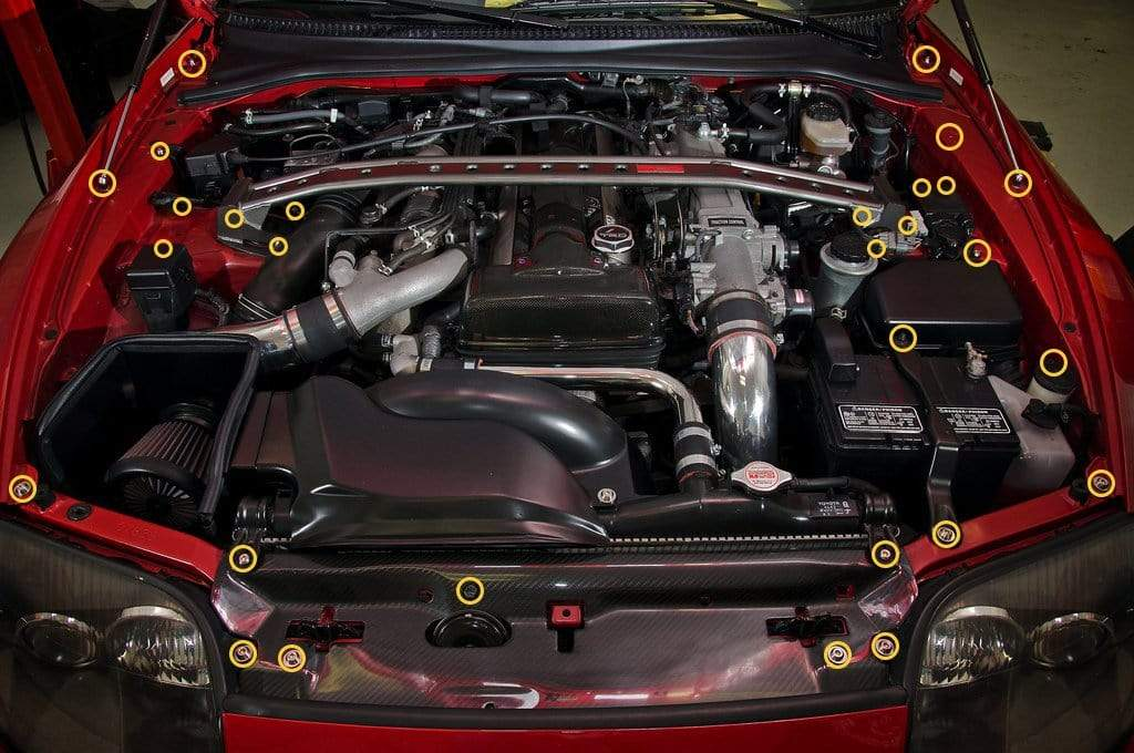 Toyota Supra Engine Bay Kit