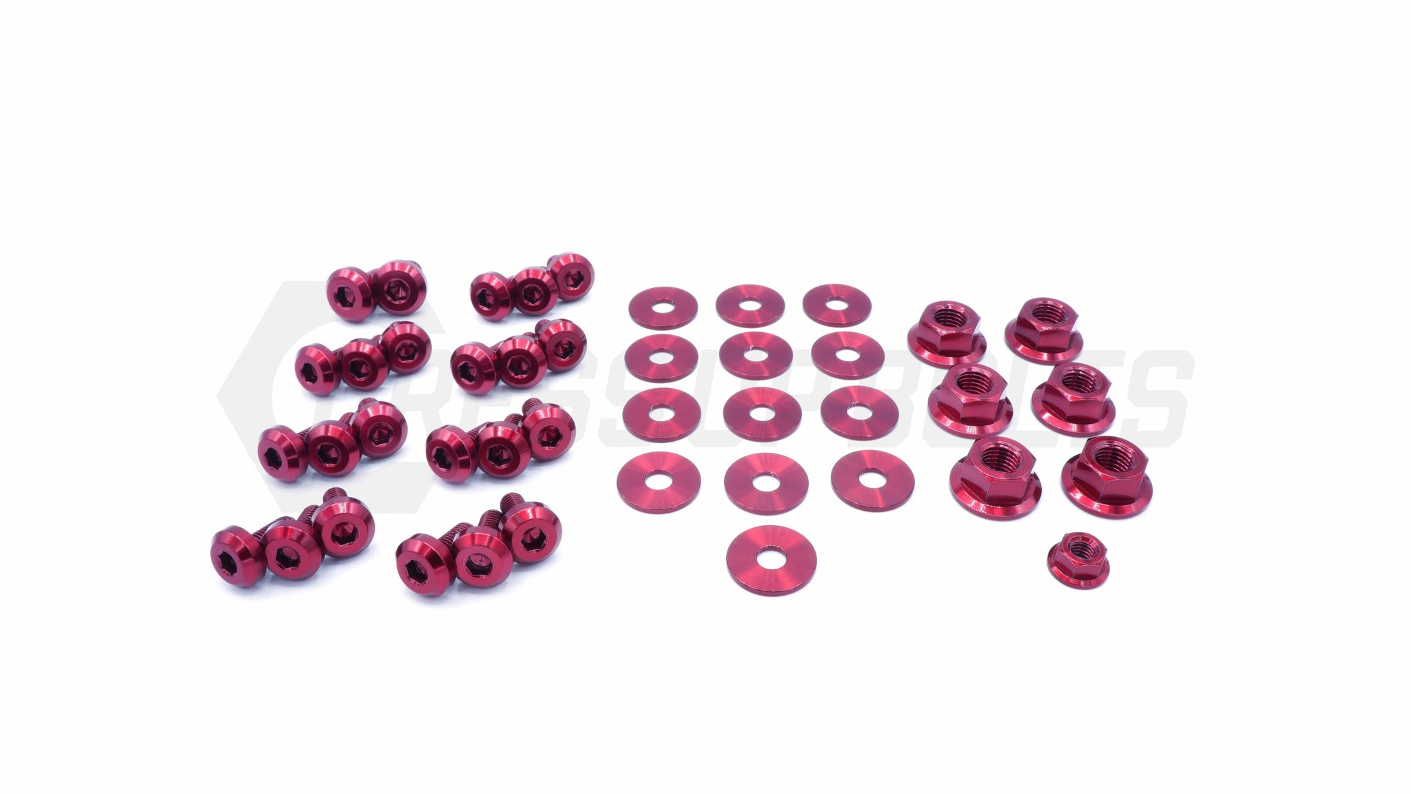 Toyota Supra (1993-2002) MKIV Titanium Dress Up Bolts Engine Bay Kit