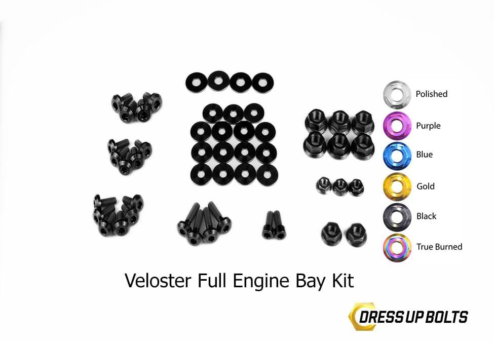 Hyundai Veloster Dress Up Bolt Kit