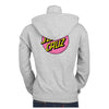 Santa Cruz Other Dot Hooded Zip L/S Sweatshirt Juniors Grey Heather