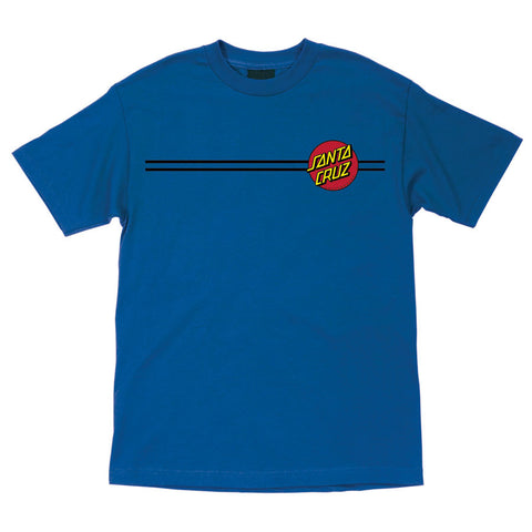 Santa Cruz Classic Dot Regular T-Shirt Royal Blue