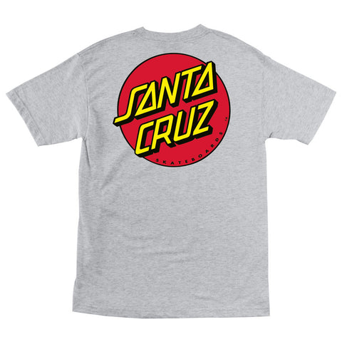 Santa Cruz Classic Dot Regular T-Shirt Athletic Heather