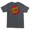 Santa Cruz Classic Dot Regular T-Shirt Youth Charcoal