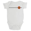 Santa Cruz Classic Dot Infant One Piece White
