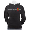 Santa Cruz Classic Dot Hooded Pullover Juniors Sweatshirt Charcoal Heather