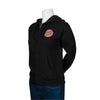 Santa Cruz Pink Other Dot Hooded Zip Sweatshirt Juniors Black