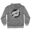 Santa Cruz Dot Hooded Windbreaker Jacket Charcoal