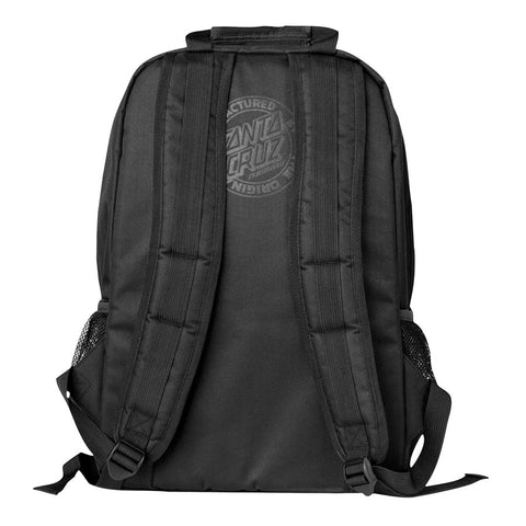 Santa Cruz Classic Dot Backpack Black