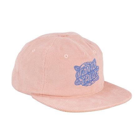 Santa Cruz Rosa Dot Women's Snapback Hat Dusty Pink