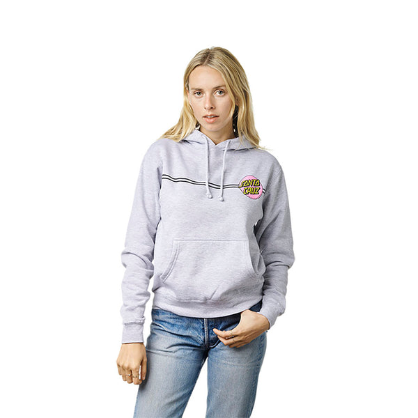 Santa Cruz Other Dot Women's Pullover Hoodie Athletic Heather