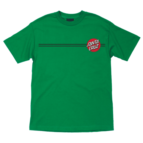 Santa Cruz Other Dot Men's Regular S/S T-Shirt Kelly Green w/ Red