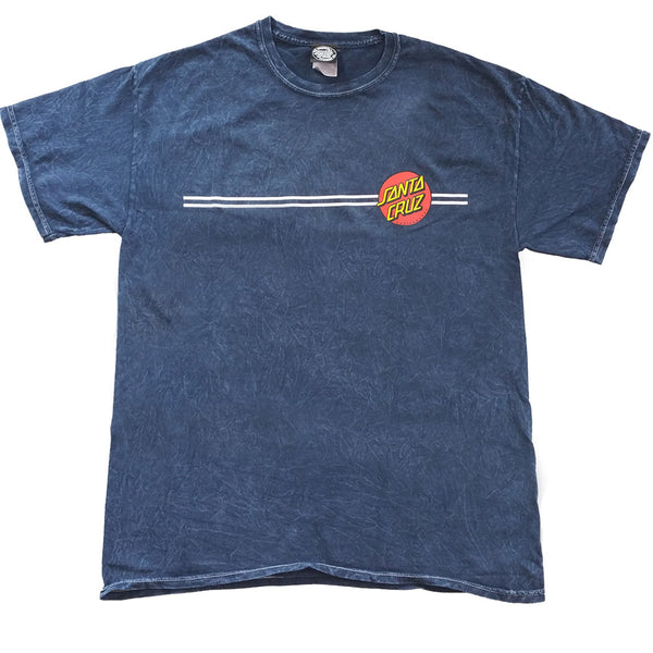 Santa Cruz Classic Dot Regular T-Shirt Mineral Navy