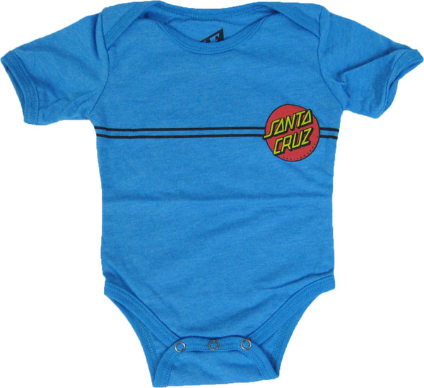 Little Ruler Classic Red Dot One Piece Blue