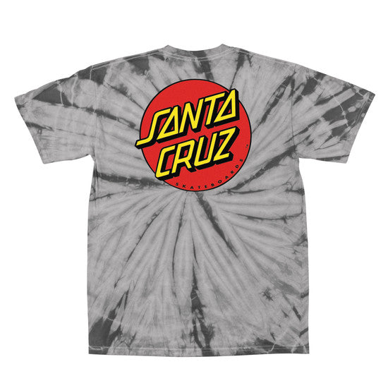 Santa Cruz Classic Dot Regular Fit S/S T-Shirt Spider Silver